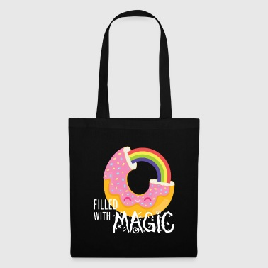 Donut - filled with magic - Tote Bag