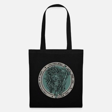 Biker Indian Skull - Tote Bag