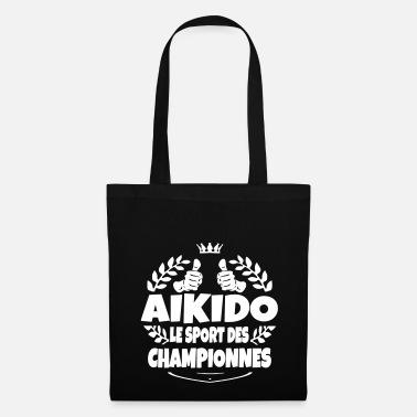 À Spreadshirt Dos Aikido Ligne Sacs En Commander Et 5w6Hqo7xZ