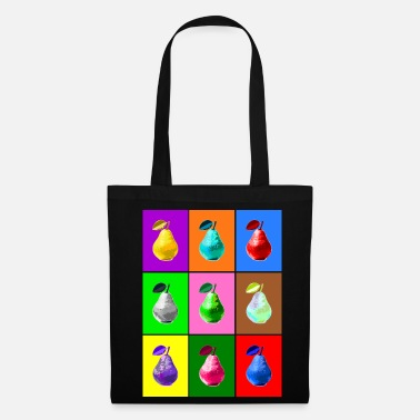 Pop Art Pop Art Birne, Pop Art Pear - Tote Bag