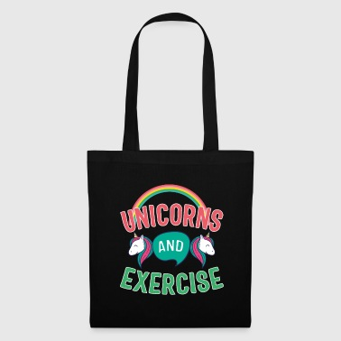 Exercise Unicorns And Exercise - Tote Bag