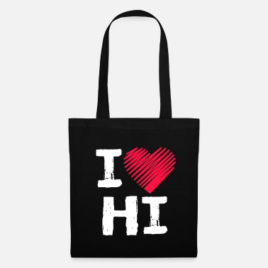 Tourist I Love Hawaii Tourist Gift - Tas van stof
