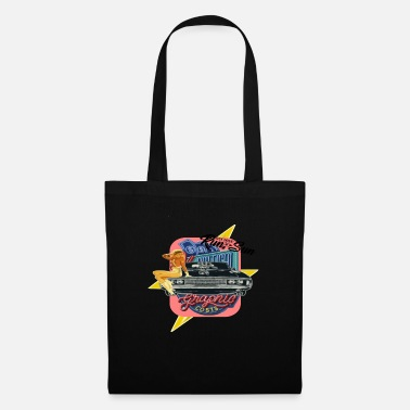 Los Angeles Muscle Car Colorful - Borsa di stoffa