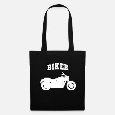 Bike Biker Motorcycle Motorcyclist - Tote Bag