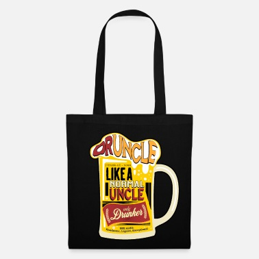 Oncle T-Shirt Druncle - Uncle Gift Herrentag - Sac en tissu