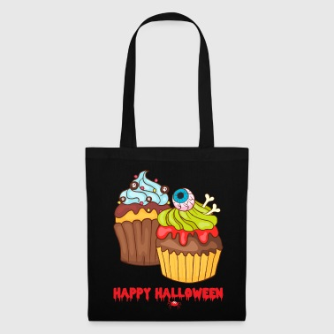 Muffins Happy Cupcakes Halloween - Tote Bag