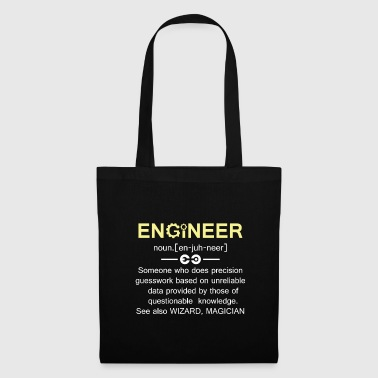 T-Shirt Engineer Funny saying Gift idea - Tas van stof