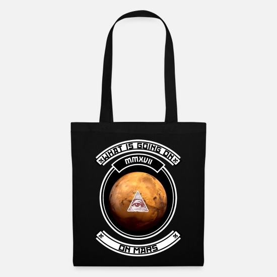 New World Order Bags & Backpacks - Mars Special! - Tote Bag black