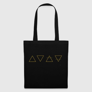 Bag 4 elements - gold - Tote Bag