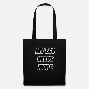 4cc0436cd7ec ... ego black - Tote Bag. Tote Bag