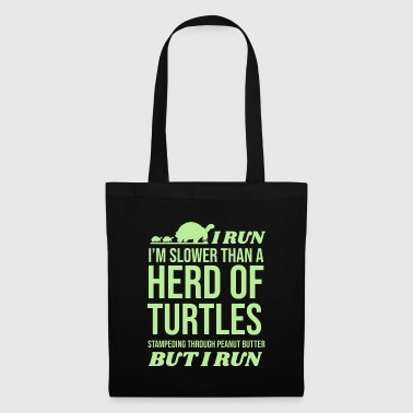 Tortuga Course à pied gymnase tortues mer reptile tortue - Tote Bag