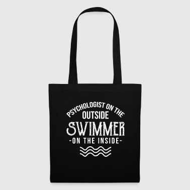Psychologist Psychologist Outside Swimmer Inside Psychology - Tote Bag