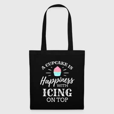 Cherry A Cupcake is happiness Ice Cream Icecream Cold - Tote Bag