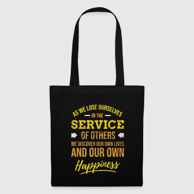 God Social Worker Volunteer Volunteers Helping Others - Tote Bag