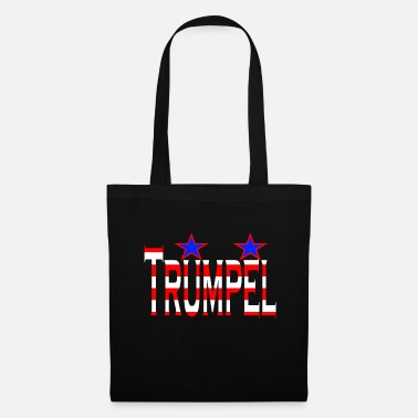 Trumpel - a small German-English word game - Tote Bag