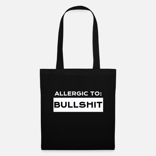 Bullshit Bags & Backpacks - bullshit - Tote Bag black