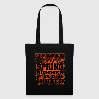 Four Seasons of the Year - Spring, Summer, Fall, W - Tote Bag