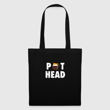 Pot Head Pot Head Coffee Pot Caffeine Vintage Coffee lovers - Tote Bag