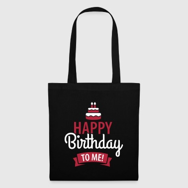 Happy birthday to me! - Bolsa de tela