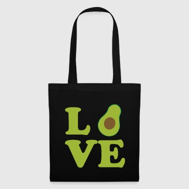 Avocat avocat guacamole fruit amour cadeau - Tote Bag