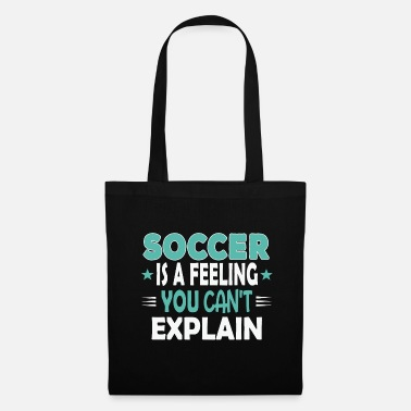 Immagine Football Team Fan Footballer Sayings Divertimento divertente - Borsa di stoffa
