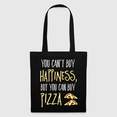 Cant buy happiness, but pizza - Tote Bag