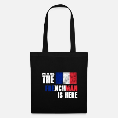Eu No Fear Frenchman is hier Flag Nation Gift - Tas van stof