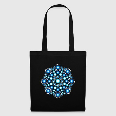 Color Dots, Dot Art, Mandala, Yoga, Meditazione - Borsa di stoffa