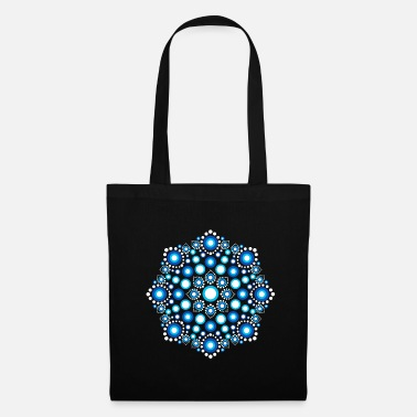 Mandala Color Dots, Dot Art, Mandala, Yoga, méditation - Tote Bag