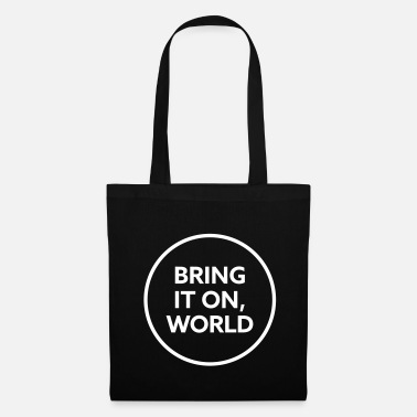 Suck Bring it on world | White - Tote Bag