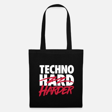 Techno harder - Tote Bag
