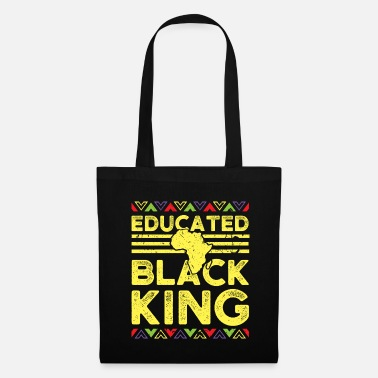 Afro African Design Uddannet Black King Birthday Gift - Mulepose