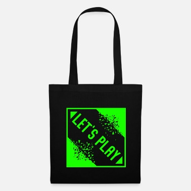 Télécharger Lets Play - Jeux vidéo Gaming Gamble Play - Tote Bag