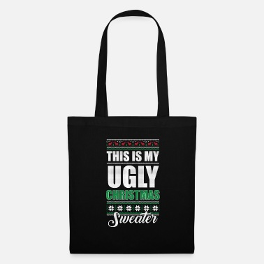 Brutto My Ugly Christmas Sweater Funny Holiday - Borsa di stoffa