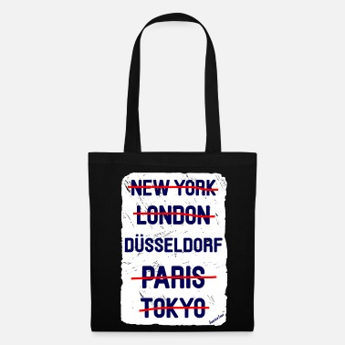 Düsseldorf NY London Düsseldorf..., Francisco Evans ™ - Tote Bag