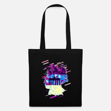 Lilac Republic of Germany 80s Retro Violet - Tote Bag