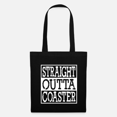 Hustler Straight Outta Roller Coaster - Tote Bag