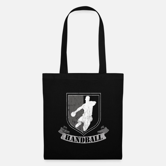 Gift Idea Bags & Backpacks - handball - Tote Bag black