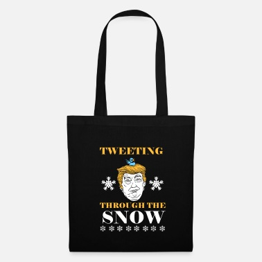 Chatter Funny Donald Trump Christmas gift chatterer - Tote Bag