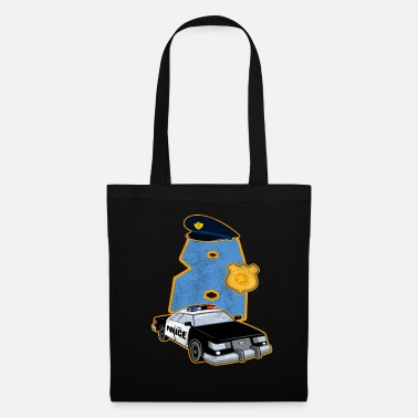Cop 8 years old gift police carriage officer child - Tote Bag