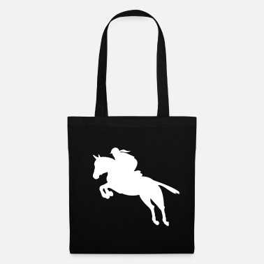 Show Jumping show jumping girl - Tote Bag