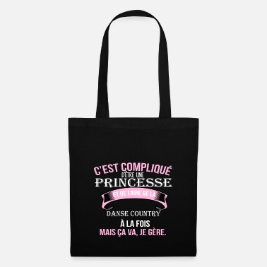 Country Danse country - Sac en tissu
