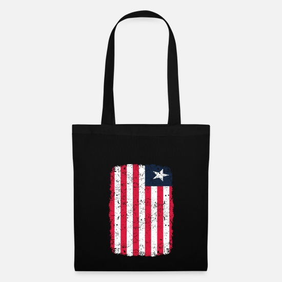Love Bags & Backpacks - roots home country roots home Liberia - Tote Bag black