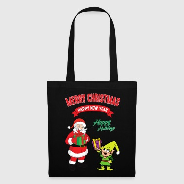 Christmas Man Elf Christmas Christmas Xmas - Tote Bag