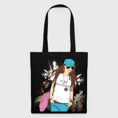 my life is underground - Tote Bag
