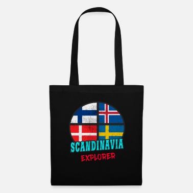 Scandinavie Scandinavie Explorer / Scandinavie / Cadeau - Tote Bag