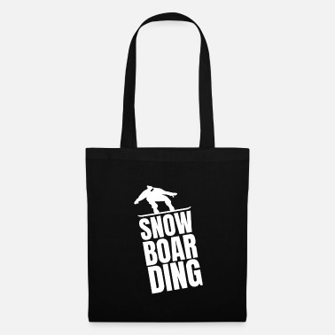 Downhill snowboarding - Tote Bag