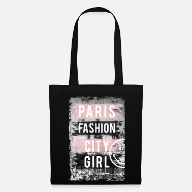 Officialbrands SmileyWorld Paris Fashion Girl - Tote Bag