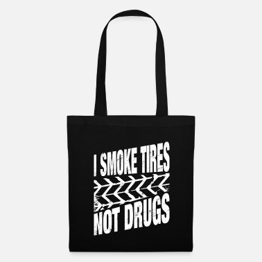Pimp Car Tuning Drift Burnout Tire Gift - Tote Bag