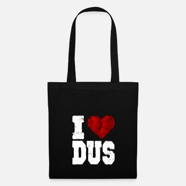 Düsseldorf i love düsseldorf heart gift touristy love - Tote Bag